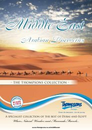 Arabian Discoveries - Thompsons Tours