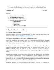 Newsletter 02/2013 - Geschichte