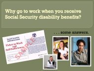Working for Recovery- Supported Employment