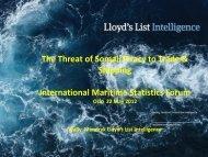 Top 20 - International Maritime Statistics Forum (IMSF)