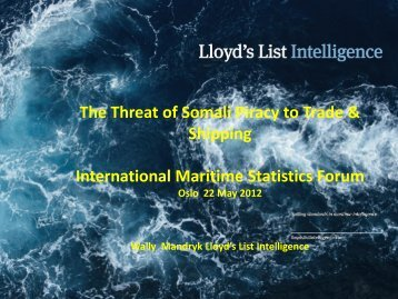 Top 20 - International Maritime Statistics Forum (IMSF)