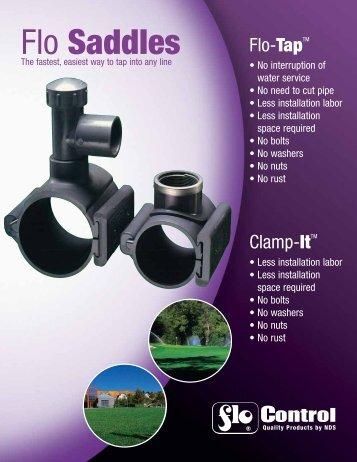 Flo Saddles Brochure - NDS