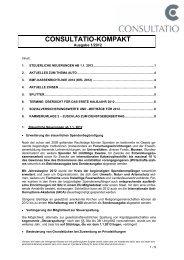 beiträge für 2012 - CONSULTATIO