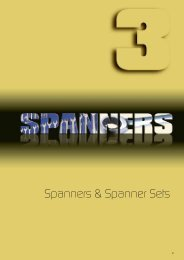 Spanners & Spanner Sets - Industrial and Bearing Supplies