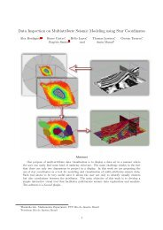 Data Inspection on Multiatribute Seismic Modeling using ... - PUC-Rio