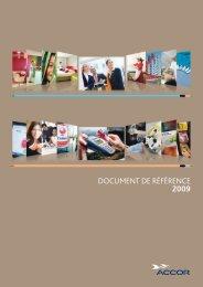 Téléchargez le document de référence 2009 - Edenred