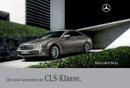 Die neue Generation der CLS - Klasse.
