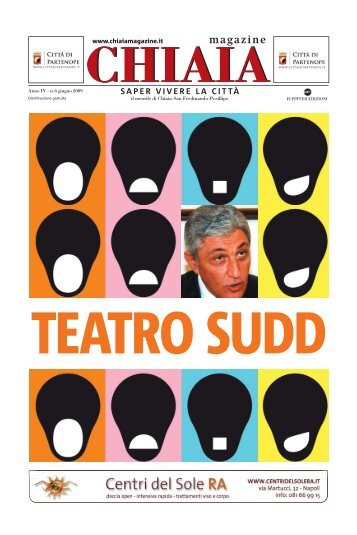 teatro sudd - CHIAIA MAGAZINE