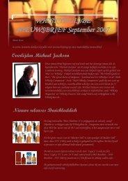 WHISKYHUIS.BE NIEUWSBRIEF September 2007