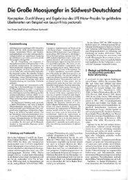 Die Große Moosjungfer in Südwest-Deutschland - INULA