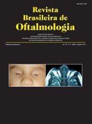 Jul-Ago - Sociedade Brasileira de Oftalmologia