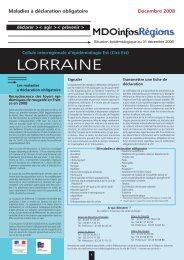 MDO infos (décembre 2006) : Les hépatites - ARS Lorraine