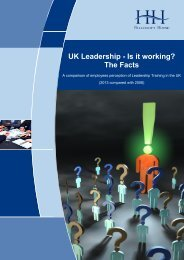 UK Leadership - Is it Working. The Facts