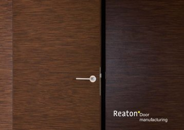 Download catalogue (English) - Reaton