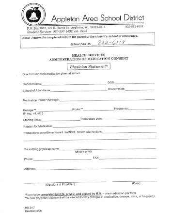 Medication Consent Form Template. consent form templates. fillable ...