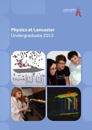 PDF to download - Physics at Lancaster University