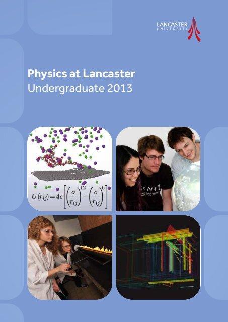 PDF to download - Physics at Lancaster University