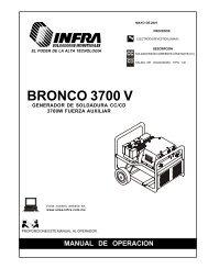 BRONCO 3700 V