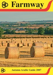 Autumn Arable Guide 2007 - Farmway