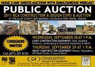 PUBLIC AUCTION - Charleston Auctions