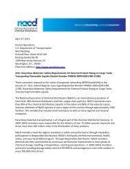 NACD Comments to DOT Wetlines Proposed Rule