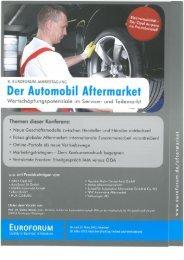 Der Automobil Aftermarket 2012 - Intea