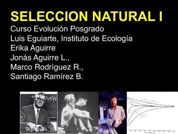 5 Selección - Instituto de Ecología