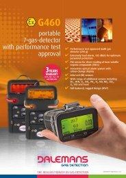 Data sheet - Dalemans Gas Detection