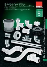Plastic Waste Pipe and Fittings Chrome Plated Brass ... - John Nicholls