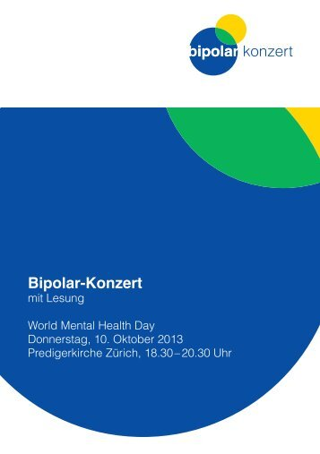 Bipolar-Konzert - Deutsche Gesellschaft für bipolare Störungen