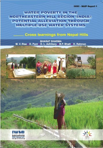 WATER POVERTY IN THE NORTHEASTERN HILL REGION (INDIA)