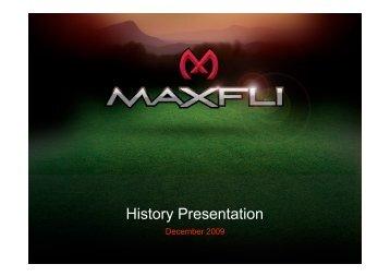 Maxfli History