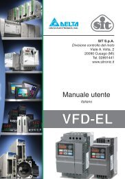 Manuale VFD-EL - Sit SpA