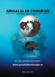 PDF (6.5 MB) - Jurnalul de Chirurgie