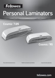 Personal Laminators - Fellowes