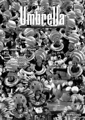 the umbrella - Rio Societies