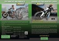 radiální pneumatiky sava technické informace - SAVA Trade
