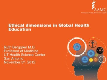 Ethical dimensions in Global Health Education
