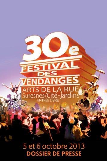 Festival des Vendanges 2013 - dossier de presse (pdf ... - Suresnes