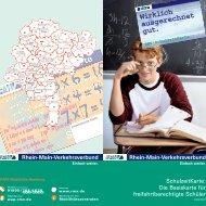 SchulzeitKarte: Die Basiskarte für freifahrtberechtigte Schüler