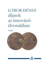 Gábor Dénes díjasok az innováció élvonalában II. kötet - Novofer Zrt.