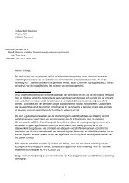 Bezwaarschrift reclamemast Roermond - Milieufederatie Limburg