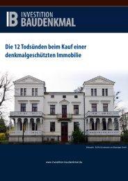 E-Book ansehen - Denkmalimmobilien