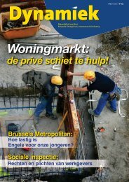 Woningmarkt: - BECI