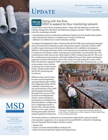 Update Newsletter – November 2010 - MSD