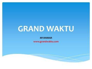 Investasi di Myanmar. - Pendaftaran Kantor Perwakilan di Myanmar