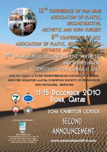 Registration Fees for the 12TH PAN ARAB Association Congress in ...