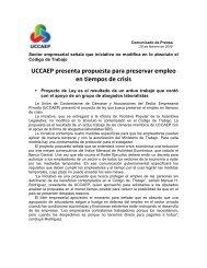 UCCAEP presenta propuesta para preservar empleo en ... - Amcham