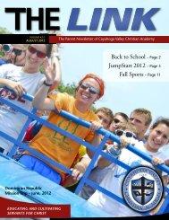 August Link - Cuyahoga Valley Christian Academy