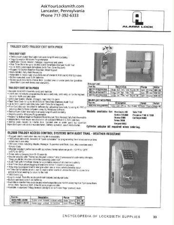 ALARM LOCK LANCASTER PA AskYourLocksmith.com - Neff's Safe ...